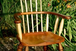 bespoke chairs, Windsor comb back chairs, bespoke carpenter