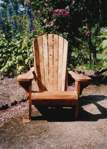 bespoke outdoor furniture, Adirondack chair