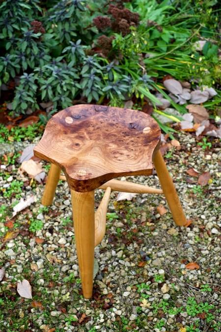 bespoke wooden stool