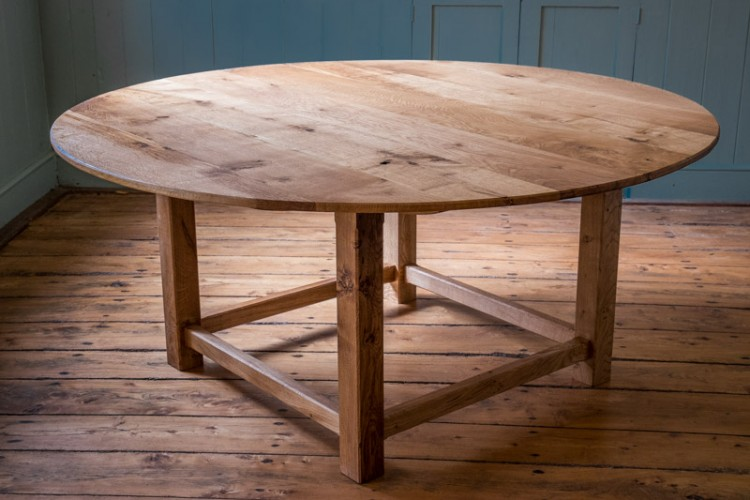 Bespoke circular dining table