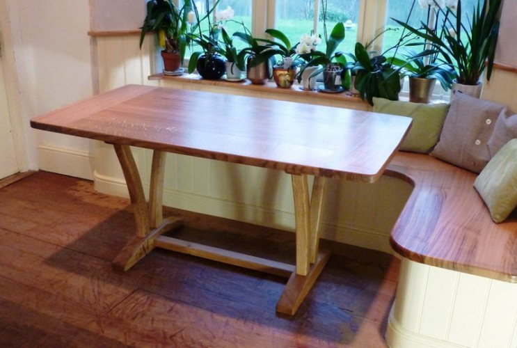 small bespoke dining table