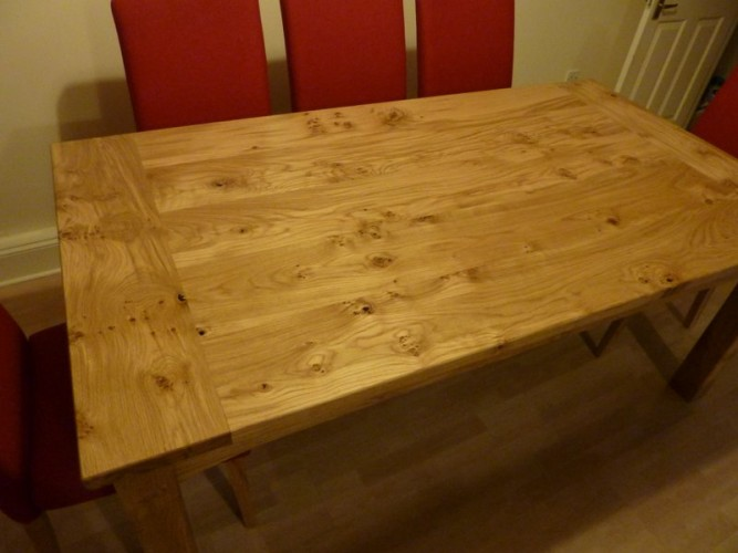 bespoke wooden dining tables