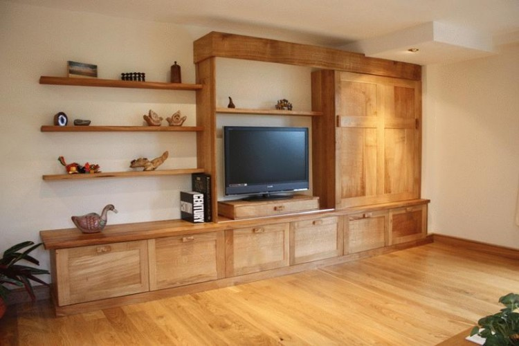 bespoke television and display unit, bespoke furniture