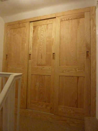 ash wardrobe, bespoke carpenter