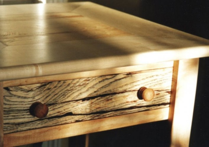 sycamore side table