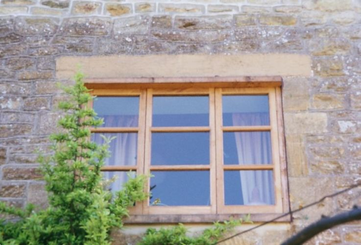 bespoke carpenter, triple three pane farmhouse window